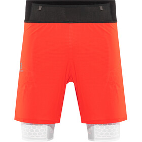 Salomon Exo Twinskin Shorts Herre fiery red/white